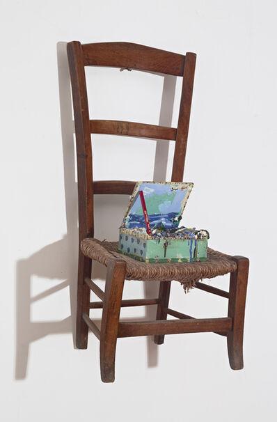 Squeak Carnwath, 'Chair with Box', 2017