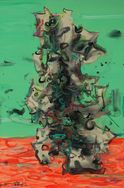 Ann Niu 牛安, 'Microcosm Series - Orange Land', 2015