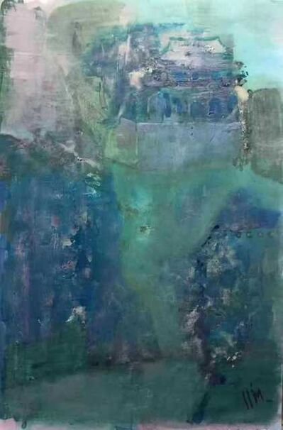 Leng Hong 冷宏, 'Green river 水蘋新綠 ', 2019