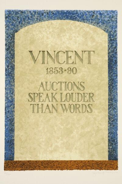 Tom Phillips, 'Vincent', 1988