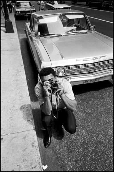 Thomas Hoepker, 'Muhammad Ali photographs Thomas Hoepker in downtown Chicago', 1966