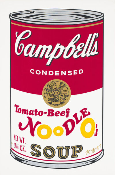 Andy Warhol, 'Campbell's Soup II, Tomato-Beef Noodle O's F&S II.61', 1969