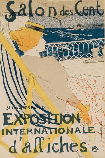 Henri de Toulouse-Lautrec, 'LA PASSAGÈRE DU 54 - PROMENADE EN YACHT', 1896