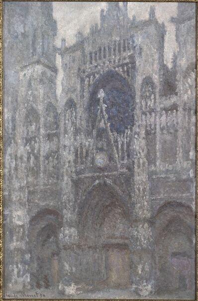 Claude Monet, 'Cathédrale de Rouen. Le porteil et la Tour Saint-Romain, Plein Soleil', 1893