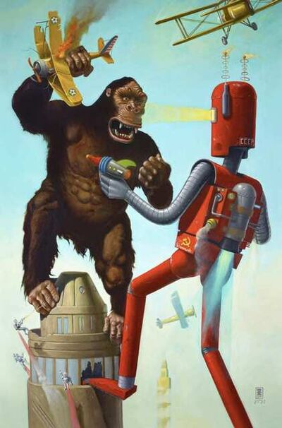 Geoffrey Gersten, 'King Kong Vs The Atomic Robot', 2019
