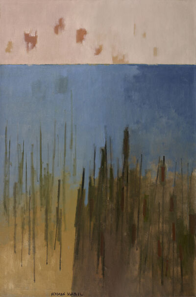 Herman Maril, 'Cat Tails', 1967