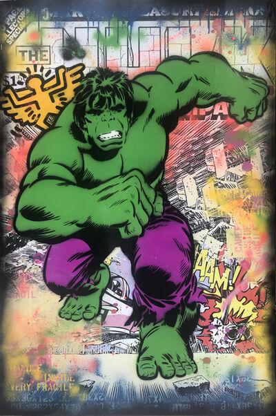 Alessio B, 'Hulk Whaam!', 2018