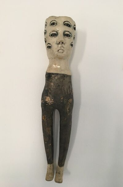 Ashley Benton, 'Ceramic wall hanging sculpture: 'She kept looking and some things changed'', 2020