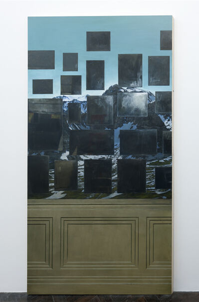Ellen Harvey, 'Context Beats Reflection', 2009