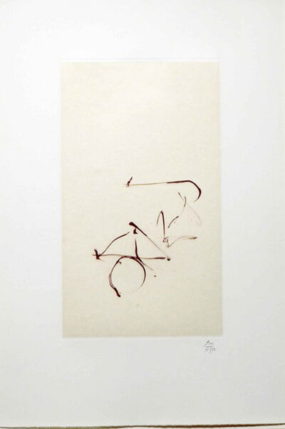 Robert Motherwell, 'Return, from Three Poems by Octavio Paz', 1988