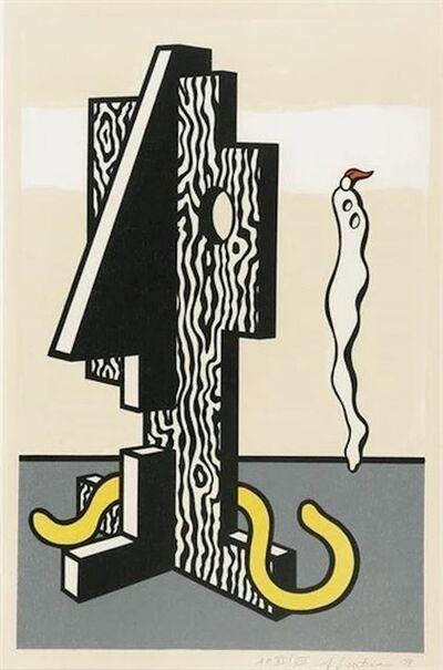 Roy Lichtenstein, 'Roy Lichtenstein 'Figures (From Surrealist Series)' 1978 Print', 1978