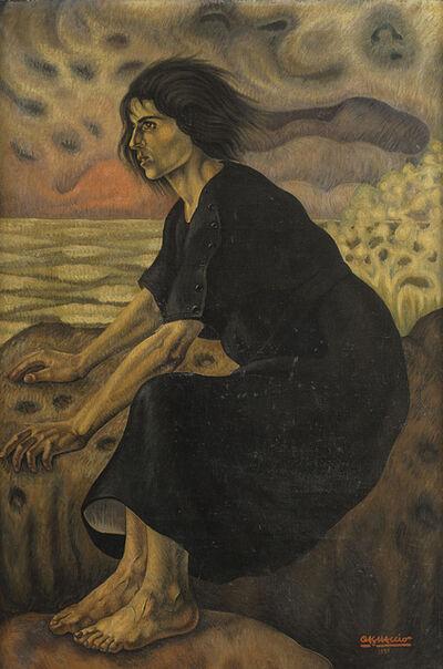 Cagnaccio Di San Pietro, 'La tempesta (Terribile attesa)', 1920