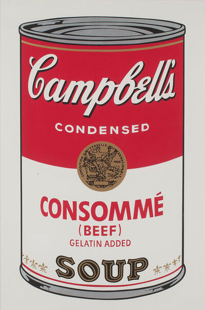 Andy Warhol, 'Campbell's Soup I: Consommé Beef (FS II.52)', 1968