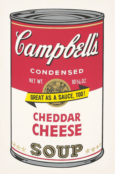 Andy Warhol, 'Cheddar Cheese, from Campbell's Soup II', 1969