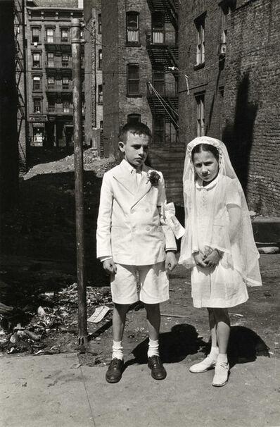 Helen Levitt, 'N.Y.C. (Communion)', 1945