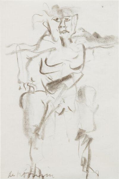 Willem de Kooning, 'Untitled (Man)', ca. 1966