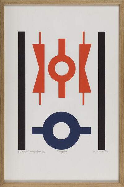 Rubem Valentim, 'Emblema Serigráfico/ Brasília', 1974