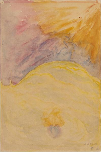 Hilma af Klint, 'Fiery Flames (Eldslågor)', 1930