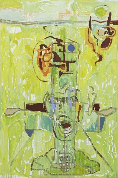 Harold Klunder, 'Green Abstraction', 2014