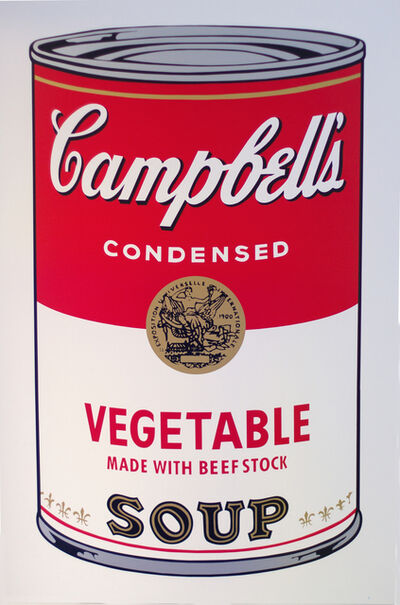 Andy Warhol, 'Vegetable made with beef stock  - Campbell's Soup I - After Warhol', 2018