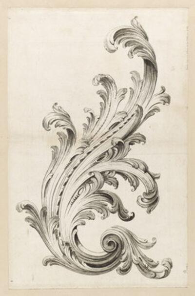 Alexis Peyrotte, 'Acanthus Leaf Design', 1740