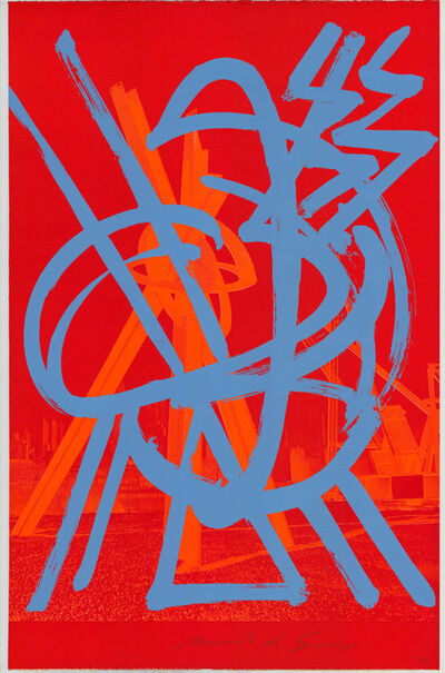 Mark di Suvero, 'Magnetic Borealis', 1991