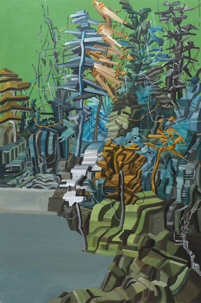 CHEN LI-YING, 'Electronic Jungle', 2015