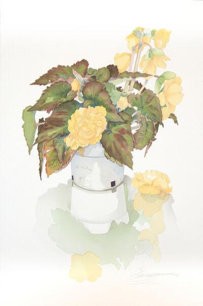 Gary Bukovnik, 'Reflective Begonia', 1989