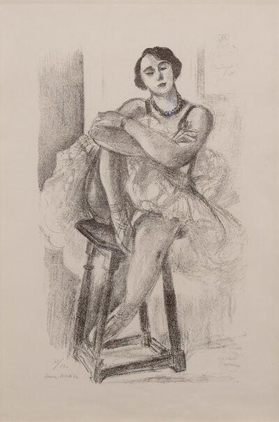Henri Matisse, 'Danseuse au Tabouret, from Dix Danseuses', 1925-1926