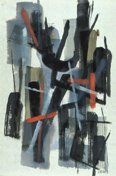 John Von Wicht, 'Dark & Light', 1965