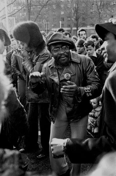 Hervé GLOAGUEN, 'Sunday afternoon at Washington square, NY 1970', 1970