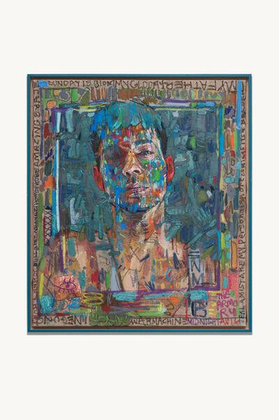 Andrew Salgado, 'Warmask Blue', 2016