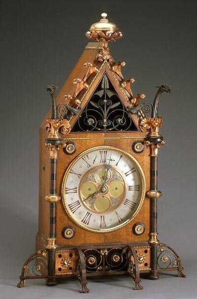 Bruce James Talbert, 'Bracket Clock', about 1865