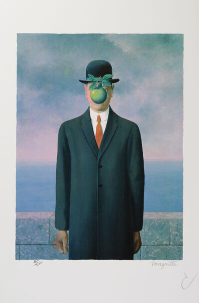 René Magritte, 'Le Fils de l'Homme (The Son of Man)', 2010