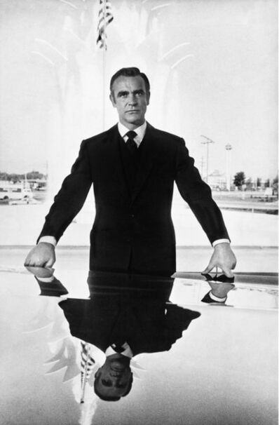 Terry O'Neill, 'Scottish actor Sean Connery as James Bond in 'Diamonds Are Forever', Las Vegas, 1971.', 1971 on set of Diamonds Are Forever