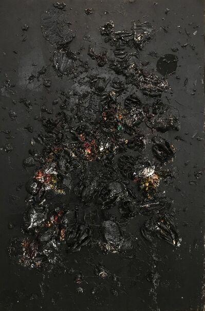 Ismael Lagares, 'BLACK II', 2018