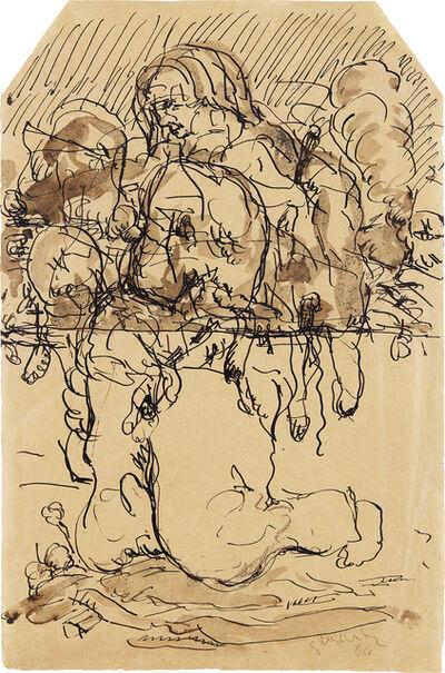 Georg Baselitz, 'Geteilter Held (Divided Hero)', 1966