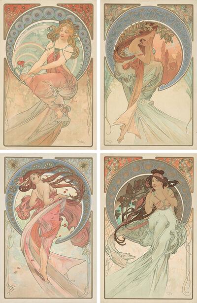 Alphonse Mucha, 'The Arts.', 1898
