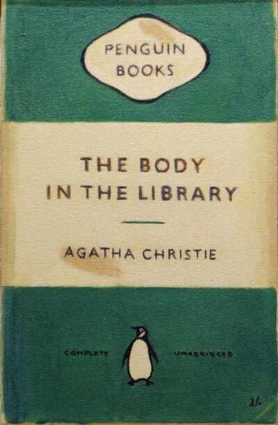 Duncan Hannah, 'Agatha Christie - The Body in the Library', 2008