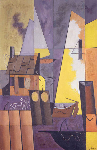 Charles Green Shaw, 'Nantucket Waterfront No. 3', 1948