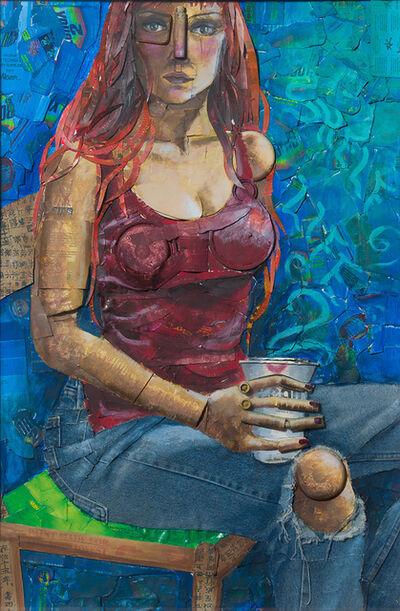 Erin Currier, 'Untitled (first Trash self portrait)', 1998