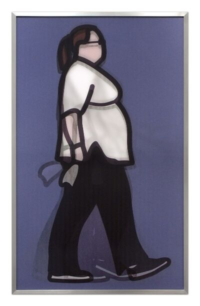 Julian Opie, 'Professional Series 1 - Nurse', 2014
