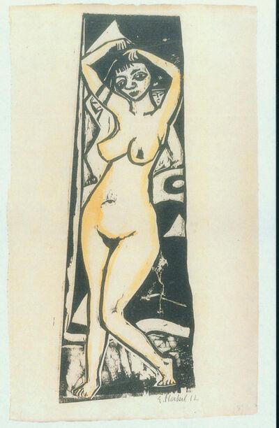 Erich Heckel, 'Stehende', 1912