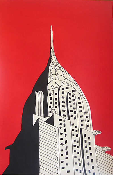 Marz Junior, 'NYC Chrysler Building', 2019