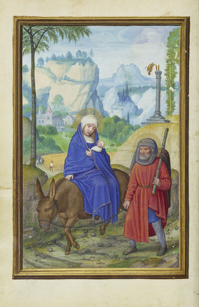 Simon Bening, 'The Flight into Egypt', 1525-1530