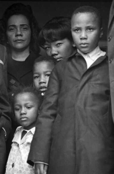 Harry Benson, 'Mrs. Martin Luther King Jr. with Family', 1968