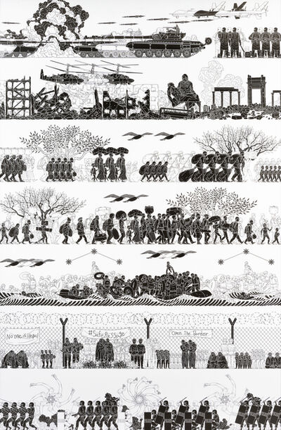 Ai Weiwei, 'The Odyssey', 2017