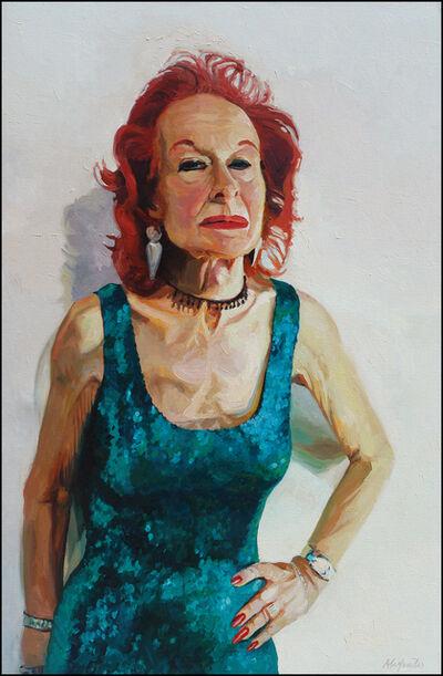 Laura Alexander, 'Olivia, Green Sequin Dress', 2004