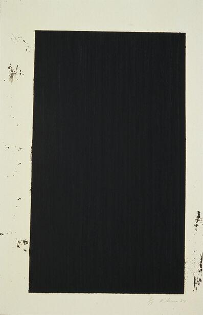 Richard Serra, 'Robeson', 1985