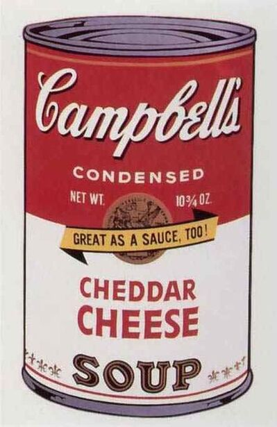 Andy Warhol, 'Cheddar Cheese Soup II', 1969